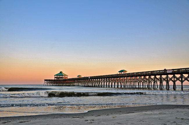 folly-beach-pier Charleston