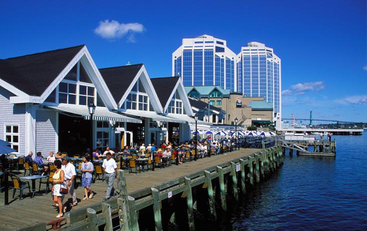 Halifax Canada seawalk