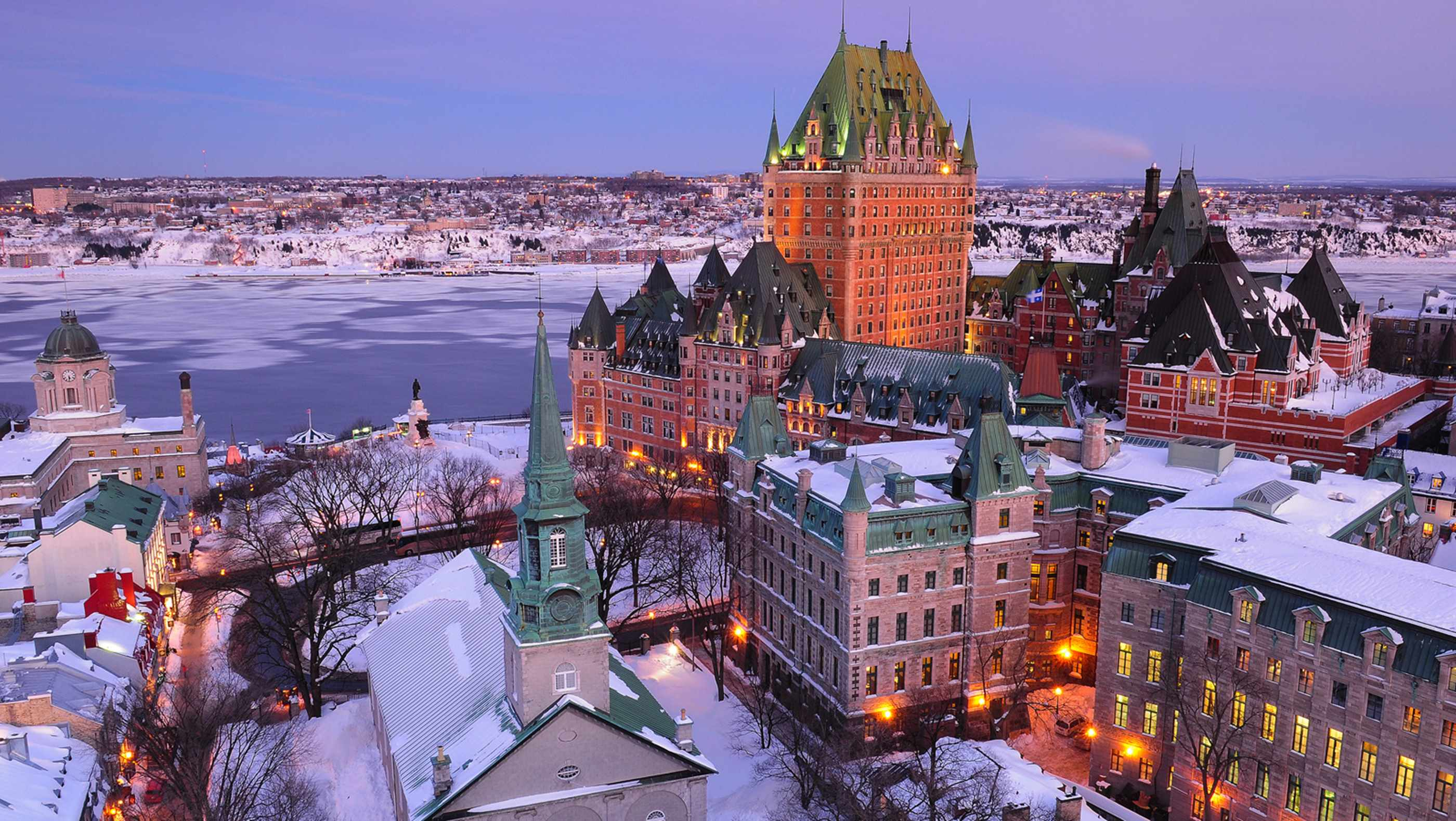 Quebec city canada tourist destinations for Quebec city places to visit